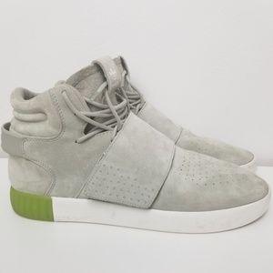 Adidas Tubular Invader Strap Grey Size US 12